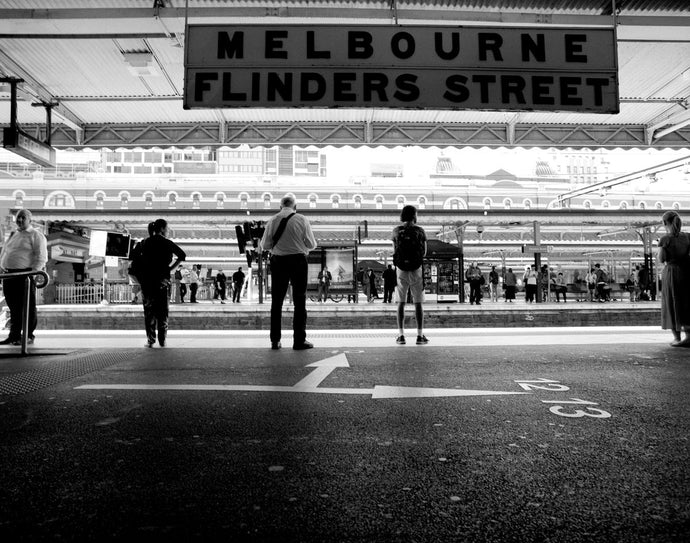 Flinders St Station_1, Melbourne 2018