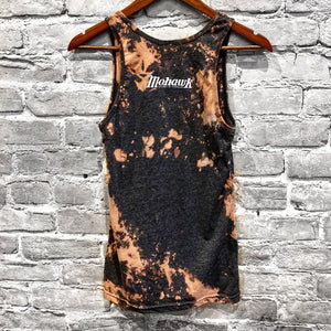 Custom Bleached and Dyed Tank Top