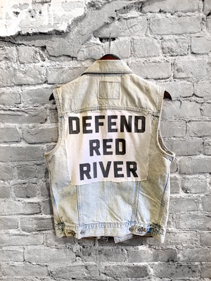 Sleeveless Levi's Defend Red River Vest