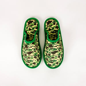 Camo House Slippers