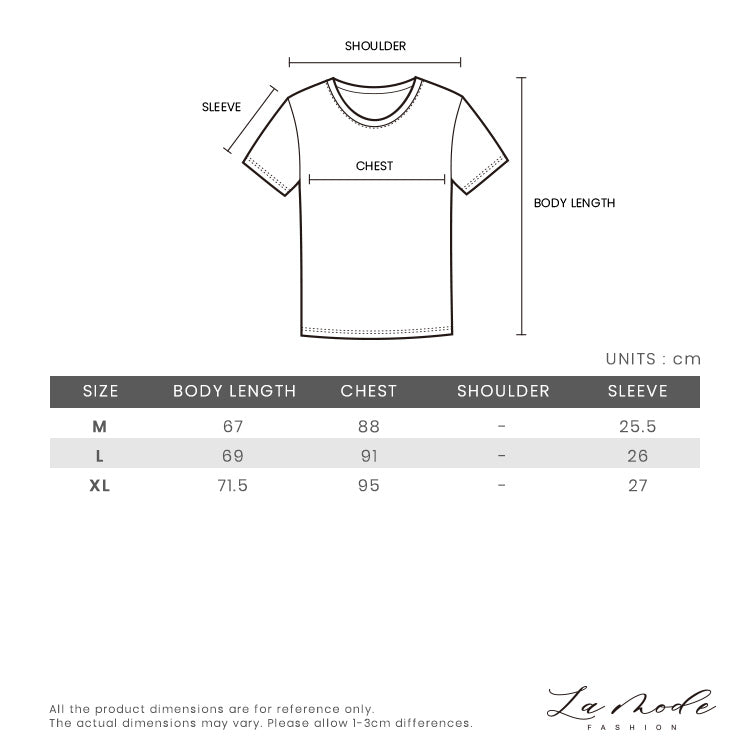 c95aec5f Size Chart of Gucci Ripped Contrast Graphic T-shirt