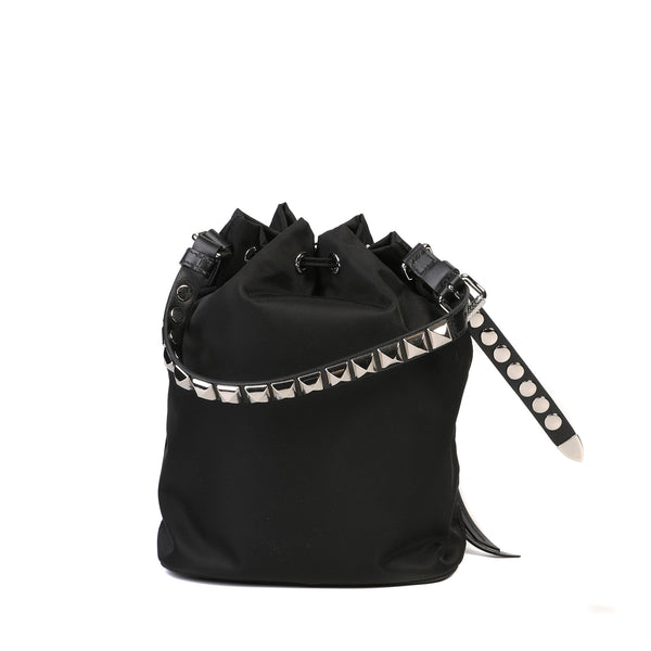 Black Nylon shoulder bag