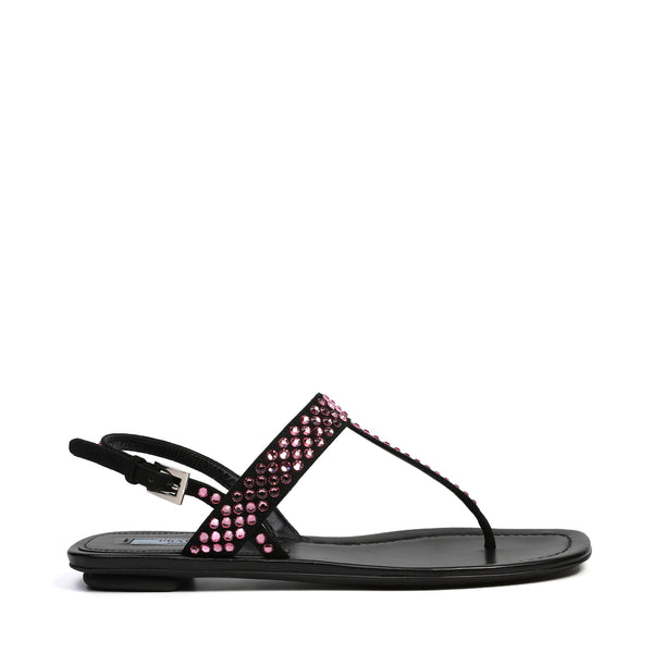 Prada - Crystal Embellished Sandals