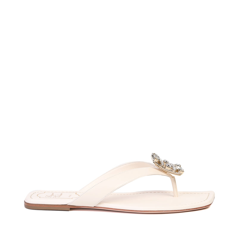 Roger Vivier - Mini RV Broche Thong Sandals