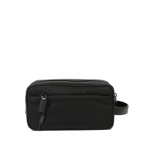 Prada Logo Nylon Wash Bag