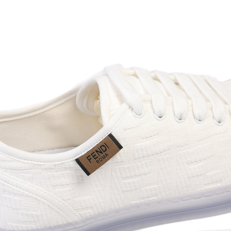 Fendi - Promenade low top lace-up sneakers