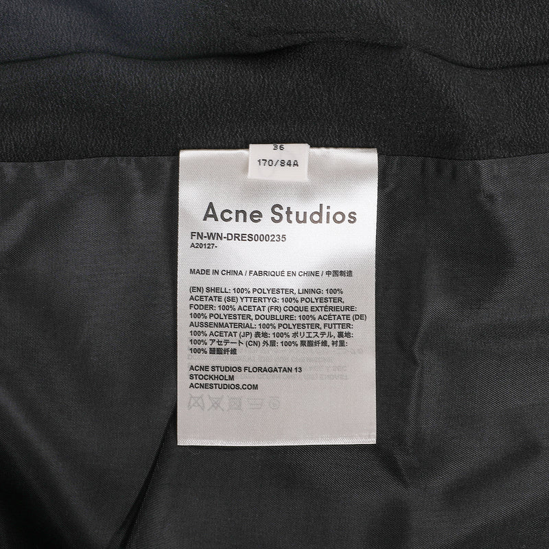 Acne Studios Pleated Strappy Dress