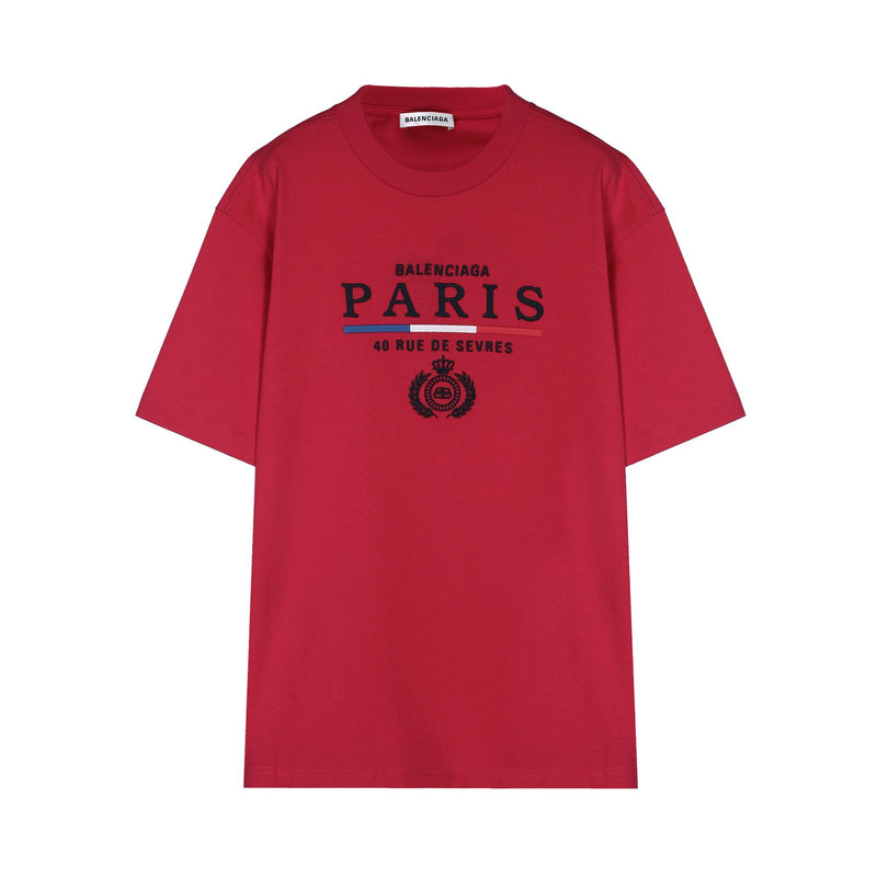 "Balenciaga ""PARIS"" Embroided T-shirt"