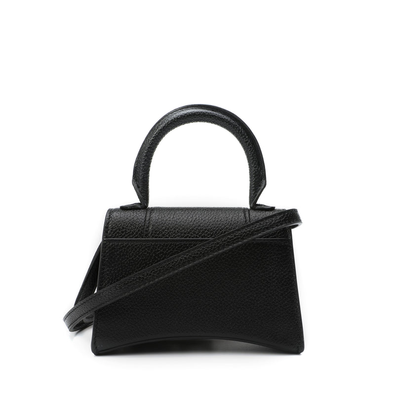 Balenciaga - Hourglass Mini Top Handle Shoulder Bag
