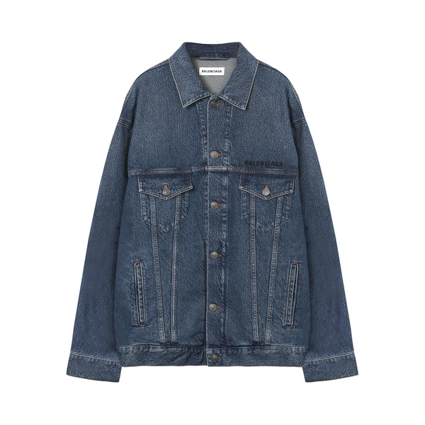 Balenciaga - Logo Denim Jacket