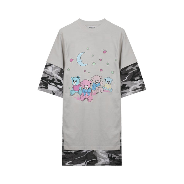 Balenciaga - Multicolor Love Poem Double Layer T-shirt