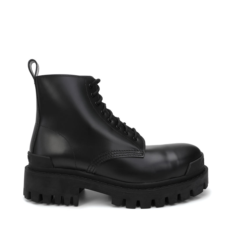 Balenciaga - Strike Lace-up Boots
