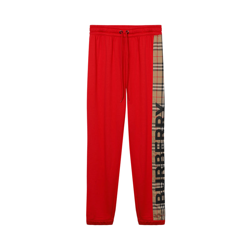 Burberry - Vintage Check Panel Track Pants