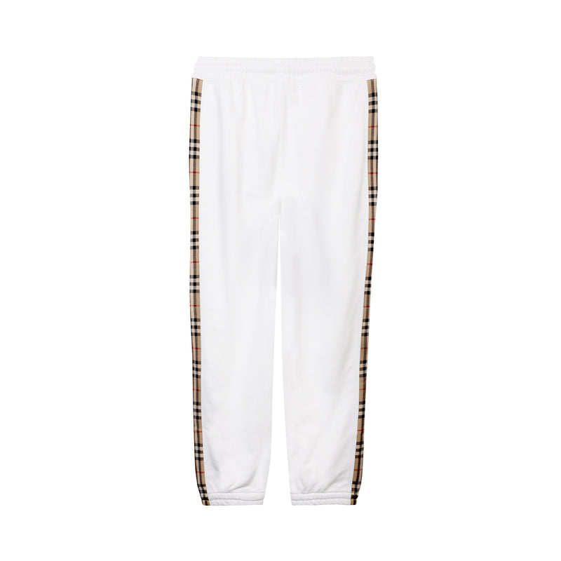 Burberry - Check-stripe Track Pants