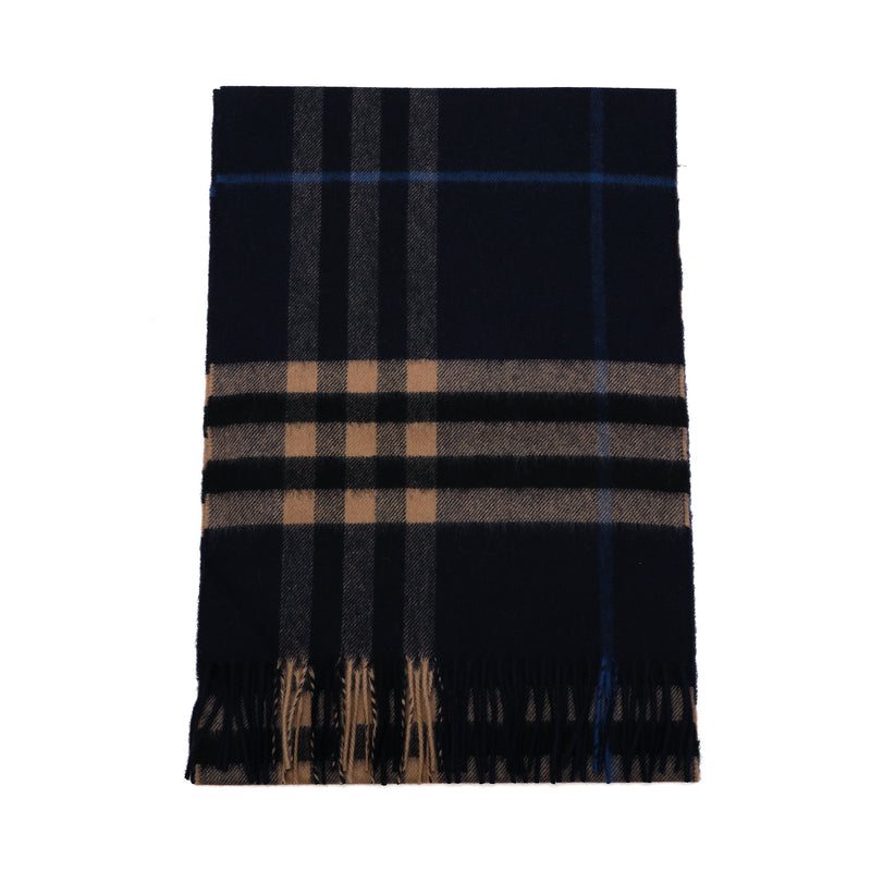 Burberry - Classic Check Pattern Scarf in Indigo