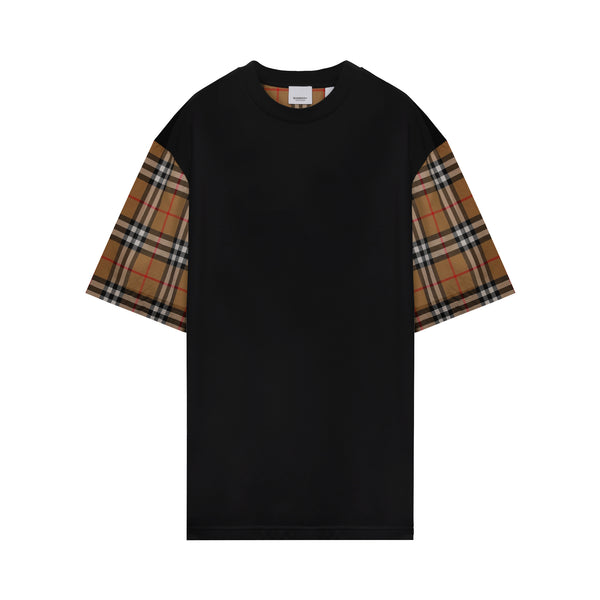Burberry - Vintage Check oversized T-shirt