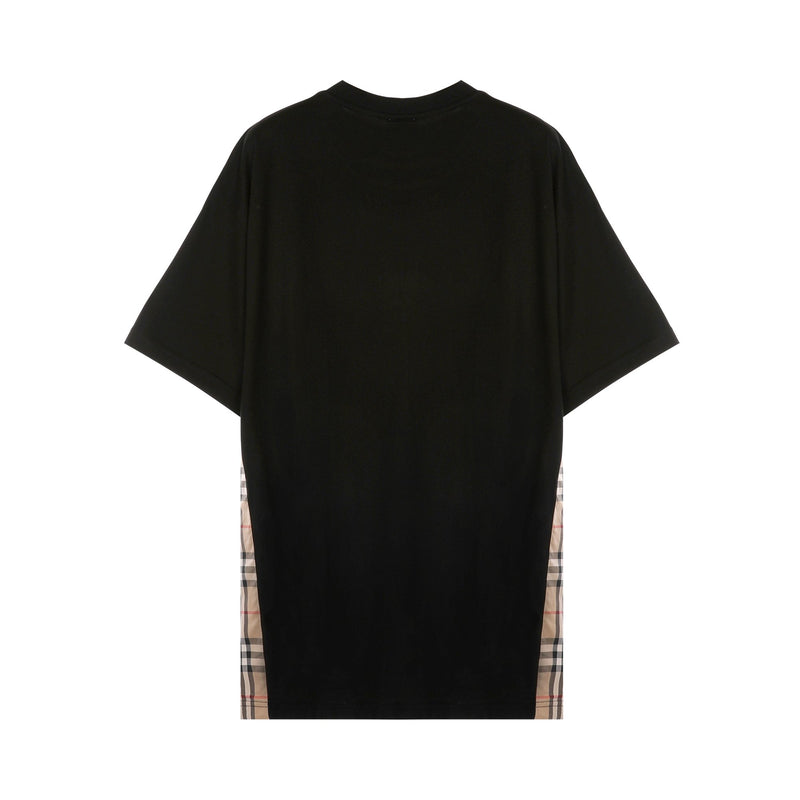 Burberry Vintage Check Panel T-shirt