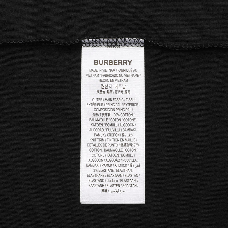 Burberry - Long-sleeve Logo Oversized T-shirt