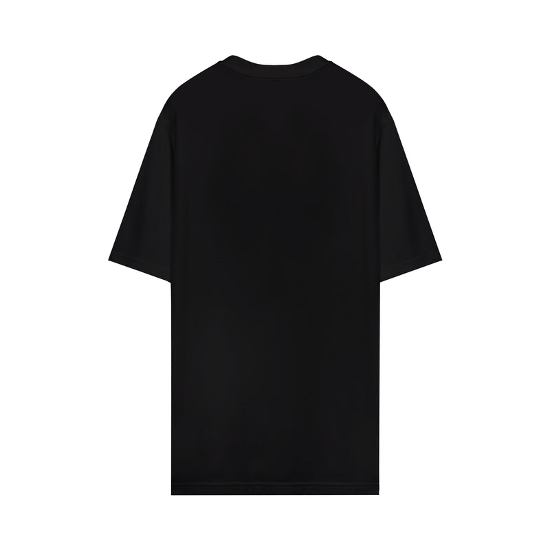 Burberry - Logo-print Oversized Cotton T-shirt