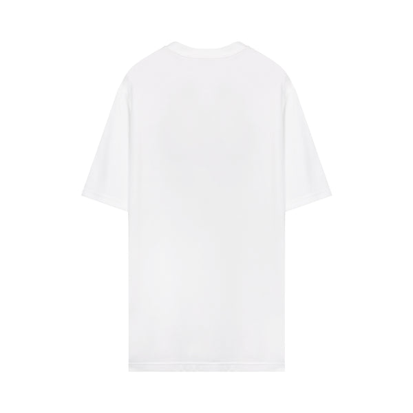 Burberry - Logo-print Cotton T-shirt