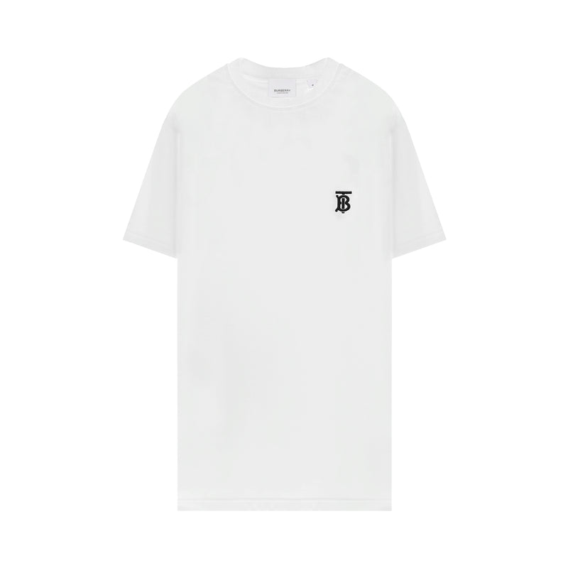 Burberry - Monogram Embroidered T-Shirt