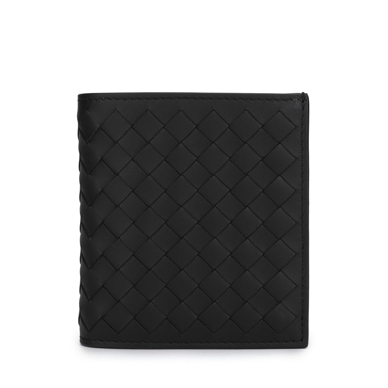 [LOWEST PRICE] - Bottega Veneta - Intrecciato Weave bi-fold Wallet