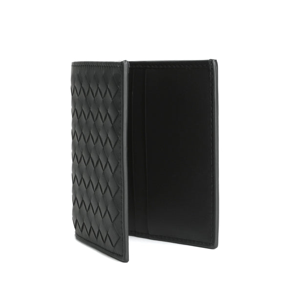 [LOWEST PRICE] - Intrecciato Weave bi-fold Wallet