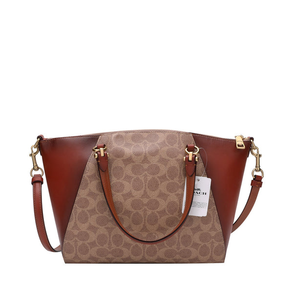 Coach Prairie Satchel in Signature Canvas