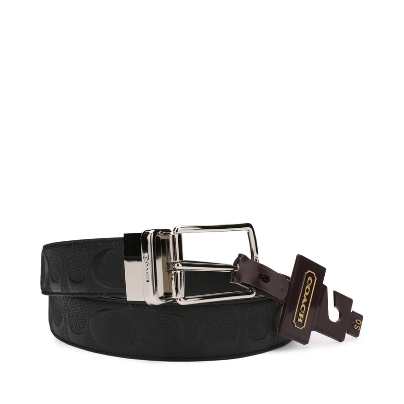 Coach Modern Harness Cut-to-size Reversible Belt in Signature Leather