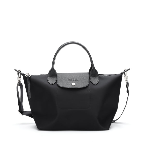 Longchamp - Le Pliage Neo Small Top Handle Bag with strap
