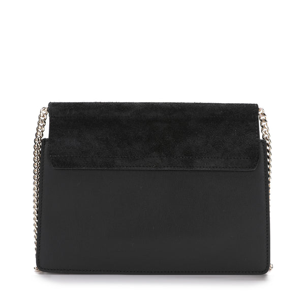 [LOWEST PRICE] - Chloe - Mini Faye Suede & Leather Crossbody Bag