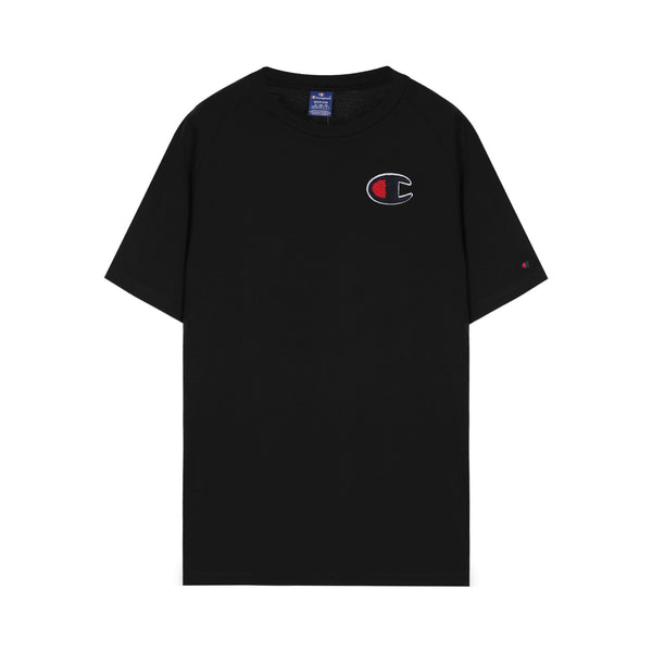 Champion C Logo Patch Cropped T-Shirt
