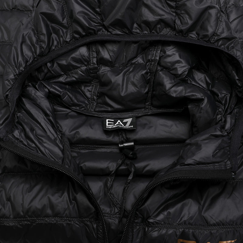 Ultra-Light Down Hooded Jacket