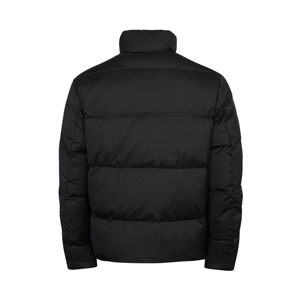 Quilted Down Monogram Jacket