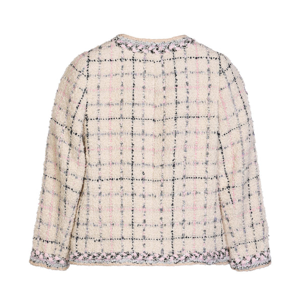 Edward Achour Boxy Cropped Jacket