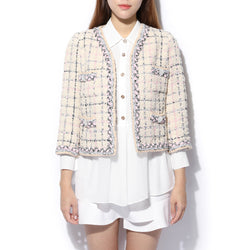 Edward Achour - Boxy Cropped Jacket