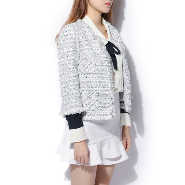Crop Tweed Jacket