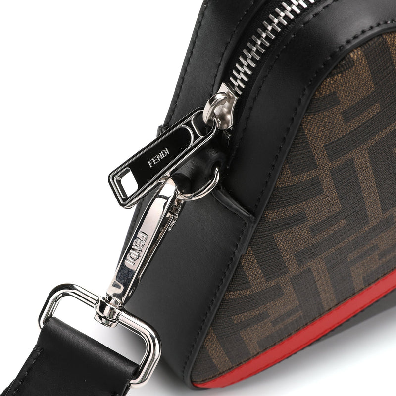 Fendi - Monogram Motif Messenger Bag