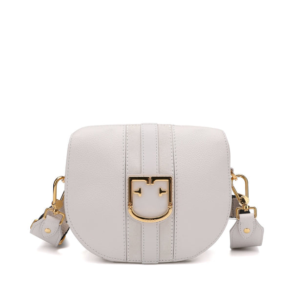 GIOIA MINI CROSSBODY IN GRAINY LEATHER