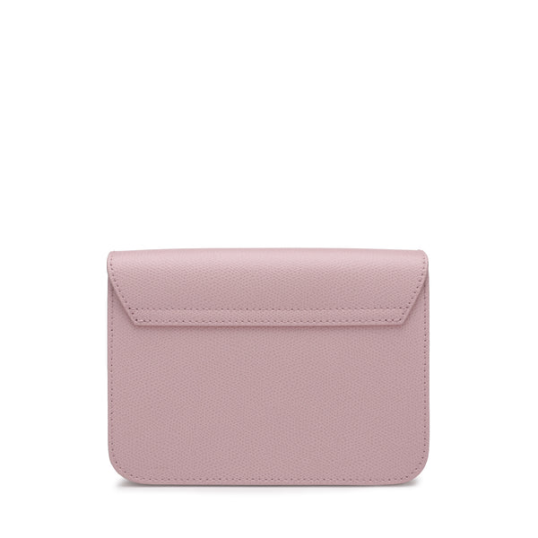 [Lowest Price] - Metropolis Mini Crossbody Bag in Textured Leather