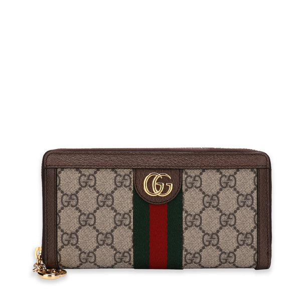 Gucci Ophidia GG Zip Around Wallet