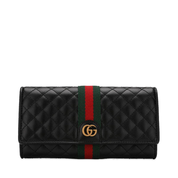 Gucci Continental Wallet with Double G
