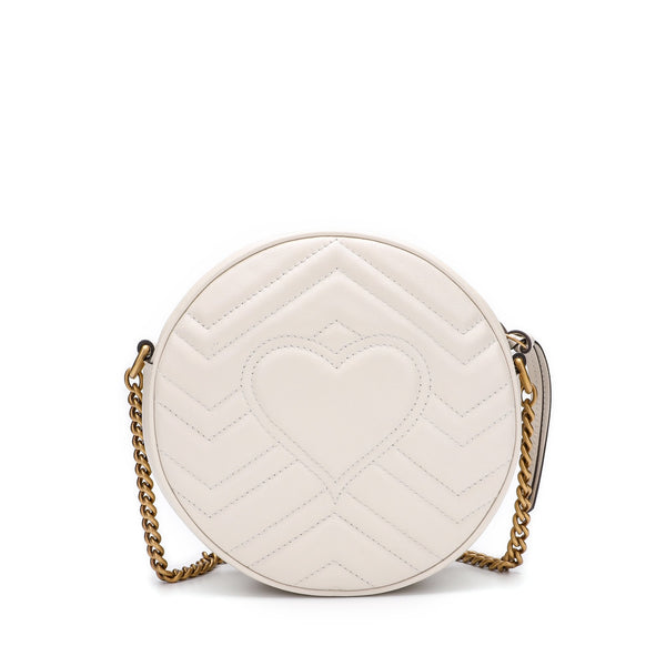 [LOWEST PRICE] - GG Marmont Mini Round Shoulder Bag