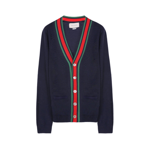 Gucci Wool Knit Cardigan