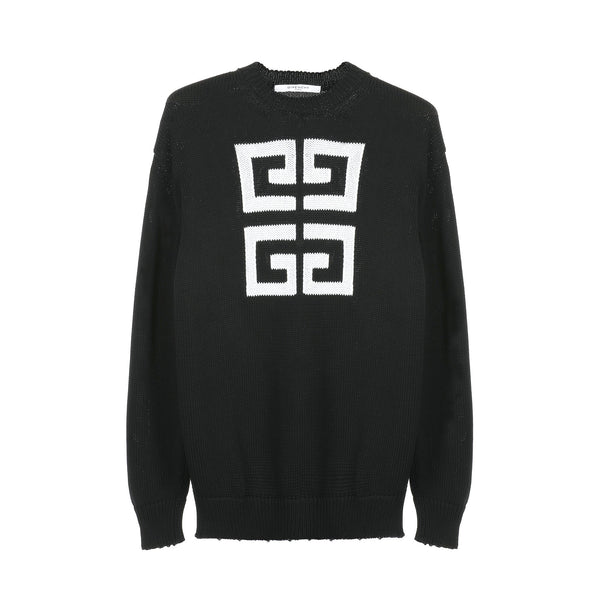 Givenchy 4G Logo Knitted L/S Sweater