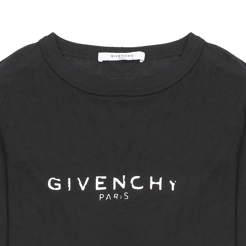 Givenchy Logo Print Relaxed Fit L/S T-shirt