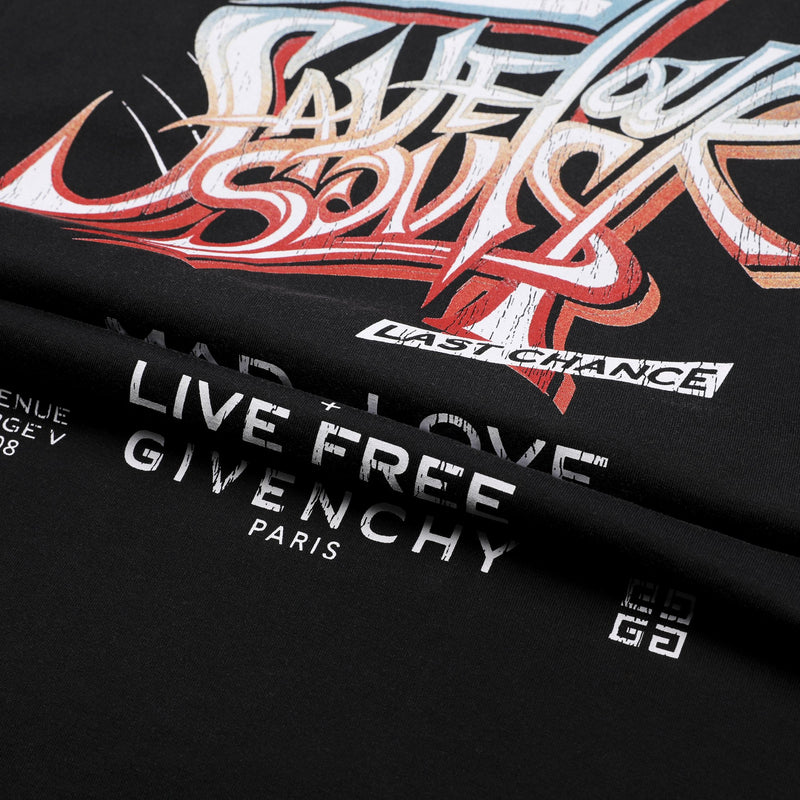 Givenchy Save Our Souls Printed T-shirt