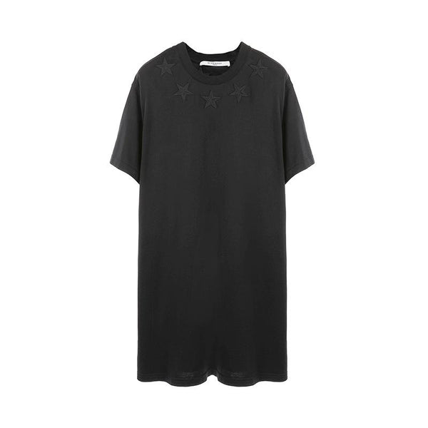 Givenchy Star Embroidered Oversize S/S T-shirt