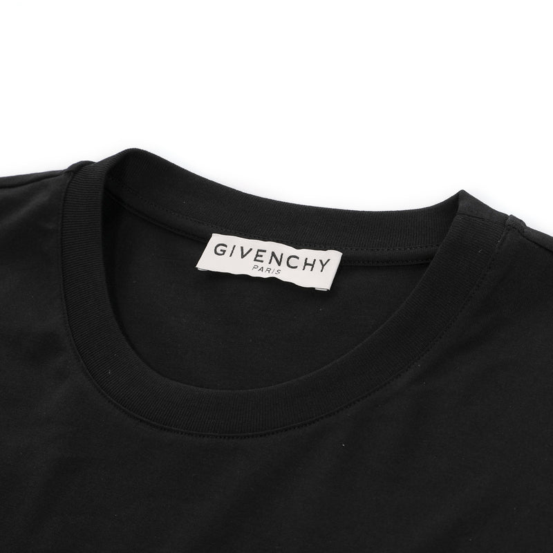 GIVENCHY PARIS metallic logo T-shirt
