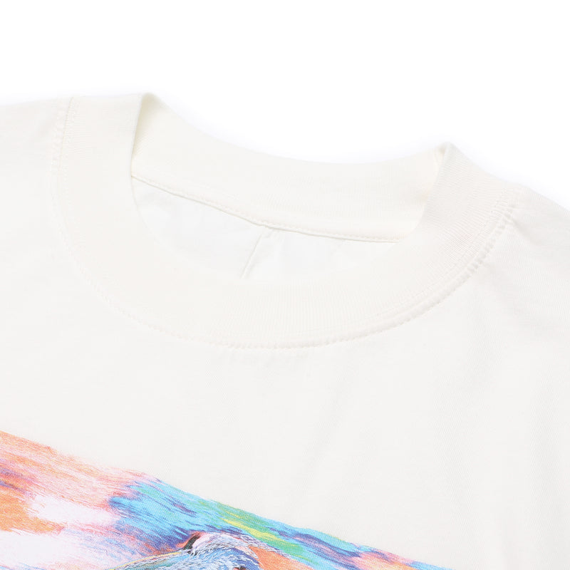 [LOWEST PRICE] - Embroidered Graphric print T-shirt